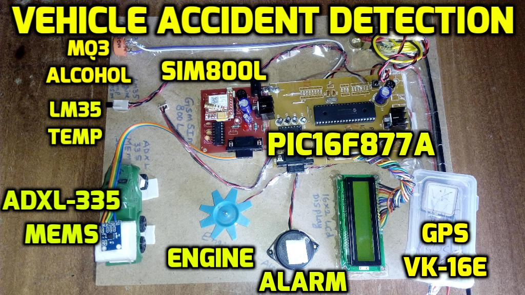 an accident by using mems sensor An accident by using mems sensor and gps, gsm to release air bag this project is to find out the vehicle which is met with an accident by using mems sensor and gps, gsm to release air bag.